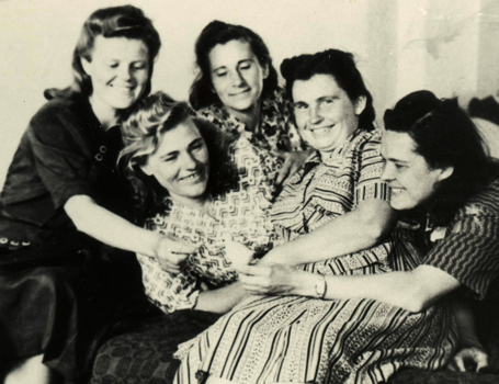Lithuanian women in the Kengir camp in May 1955