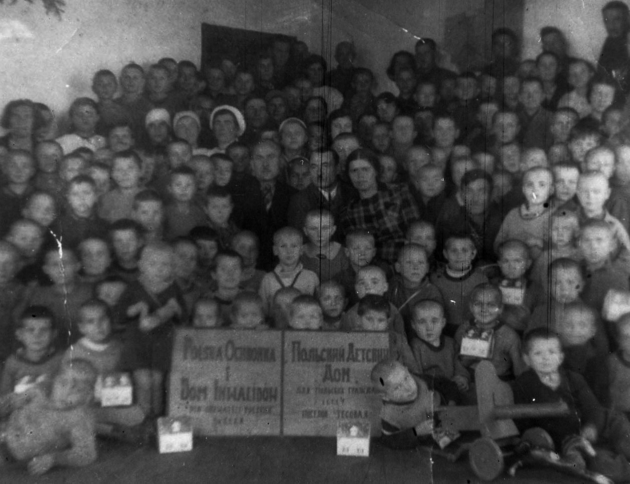 An orphanage for Polish children