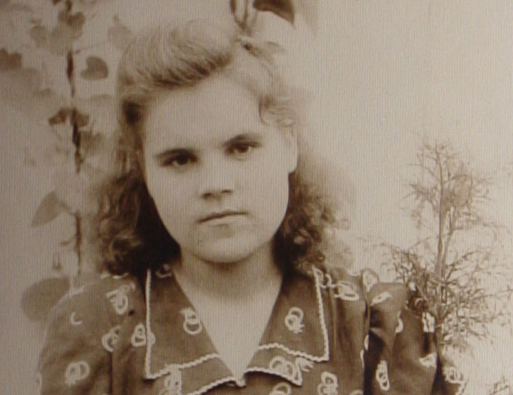 Anna as a student in Novosibirsk
